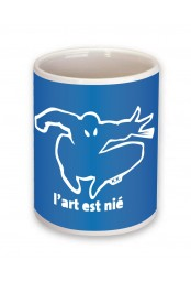Mug L'art est nié