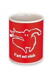 Mug L'art est niais