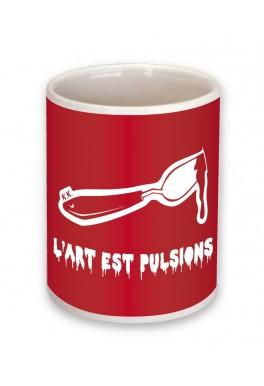 Mug L'art est pulsions