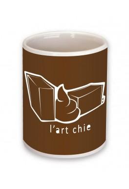 Mug L'art chie