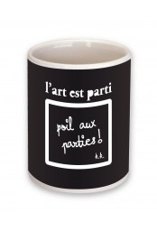 Mug L'art est parti