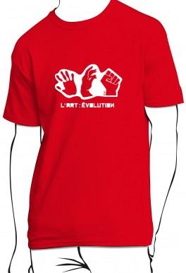 T-shirt L'art : évolution