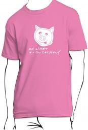 T-shirt De l'art ou du cochon