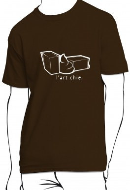 T-shirt L'art chie
