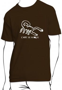 T-shirt L'art se nique
