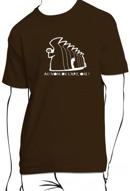T-shirt Au nom de l'art ose