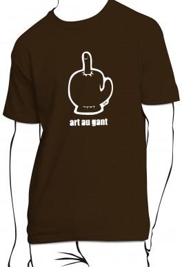 T-shirt Art au gant