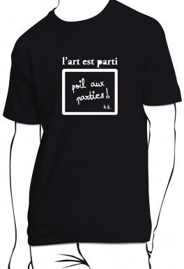 T-shirt L'art est parti