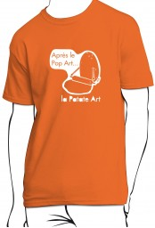 T-shirt Patate art