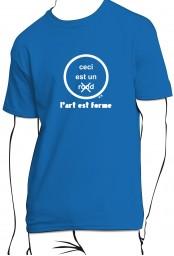 T-shirt L'art est forme