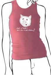 Débardeur De l'art ou du cochon