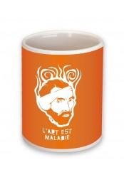 Mug L'art est maladie