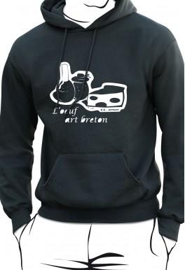 Sweat L'oeuf art breton