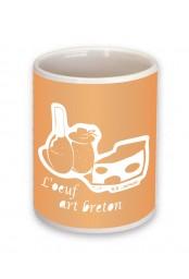 Mug L'oeuf art breton