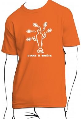 T-shirt L'art à quête